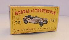 Repro box MATCHBOX MOY Nº 10 1928 MERCEDES 36/220 plus
