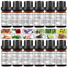 100% Pure Essential Oils for Diffuser -Sandalwood,Rose,Jasmine,Vetiver,Tea Tree+