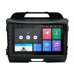 """9"""" Car GPS Navigation Android 9.0 Fit for Kia Sportage 3 Series 10-16 l"""