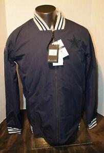 Dallas Cowboys Nike On Field Navy Jacket W Silver Vest Combo N W Tags Men's MED