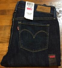 LEVI'S CURVE ID SLIGHT CURVE Straight Leg Jeans - Women's 2 Medium NWT