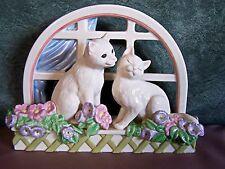 Lenox Love in Bloom Cat Kitten Figurine Fine Porcelain Mint