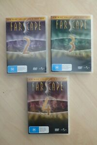 FARSCAPE Seasons 2,3 & 4 DVD  Jim Henson