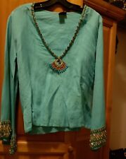 INCA Collection Jeweled Entrusted Top Size S