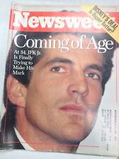 Newsweek Magazine Jfk Jr. Disney Deal August 14, 1995 052217nonr