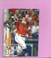 2020 Topps 582 Montgomery Club Foil Stamp #686 Josh Reddick Houston Astros
