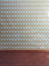 "Dollhouse Miniature Brodnax Arts & Crafts Victorian Wallpaper ""Tapestry"" 1:12"