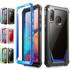 Para Galaxy A10E/A30/A50/A20 Case Capa À Prova De Choque , [resistente a riscos volta]