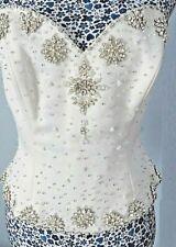 Rosetta Nicolini Wedding Separates Bridal Diamante Corset Sweetheart Bodice Top