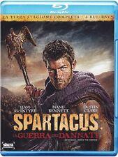 SPARTACUS - LA GUERRA DEI DANNATI - STAGIONE 3  (COFANETTO 4 BLU-RAY)