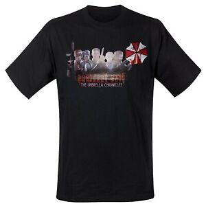 Resident Evil T-Shirt The Umbrella Chronicles Original New Blister
