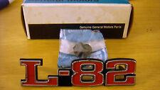 New 73-79 Chevrolet Chevy Corvette L-82 Emblem Symbol 367685 / 372370 Genuine GM