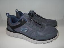 Skechers Track Scloric SN 52631 Men's Size 9.5 M--Dark Grey and Navy Blue