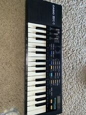 Vintage Casio SK-1 Portable 32 Key Sampling Keyboard Tested Great! No Cover