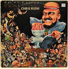 "CHRIS RUSH    ""First Rush""    1973 Vinyl LP   Cosmic Comedy  Atlantic SD 7257"
