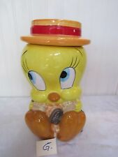 Warner Bros. Looney Tunes 1997 Tweety Bird Cookie Jar -G-