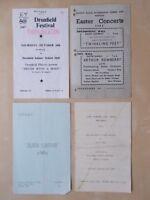 JOB LOT VINTAGE 1960's SHEFFIELD THEATRE PROGRAMMES - STOCKSBRIDGE DRONFIELD
