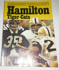Hamilton Tiger-Cats Magazine Canadian Football League July 1973 NO ML 072514R