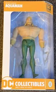 Aquaman Justice League Action Figure #6 DC Collectibles Sealed New