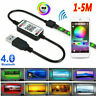 5V USB LED Strip 5050 RGB Bluetooth APP Control Light TV Background Music Sync
