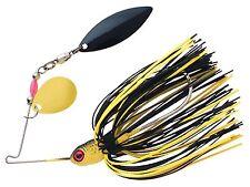 Booyah Pond Magic Spinnerbait - 3/16 Oz - Grasshopper, Bass Redfin Perch Lure