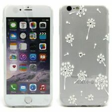 TPU Gel Cover for Apple iPhone SE 5 5S Transparent Pattern Protector Case *UK*