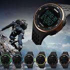 SKMEI Men Analog Digital Date Sports Rubber Quartz Wrist Watch Alarm Waterproof