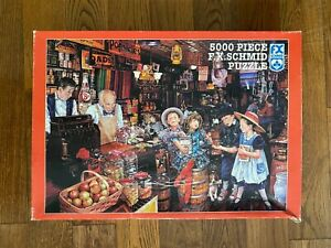 RARE 5000 F.X. Schmid LUCKY MARBLES Jigsaw Puzzle by Susan Brabeau