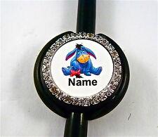 ID STETHOSCOPE NAME TAG BLING,EEYORE, NURSE,RN,MEDICAL,ER,,MA,VET TECH, VET.