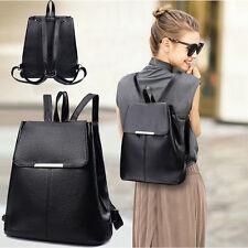Fashion Leather Women Backpack Rucksacks Travel School Bag Shoulder Bags Satchel