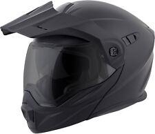 Scorpion EXO-AT950 Modular Motorcycle Helmet (Matte Black) L (Large)