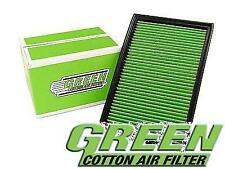 Green Cotton Performance Air Filter PEUGEOT 207 10/09- 1.6L i 16V Turbo