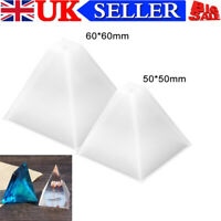 50/60MM Pyramid Silicone Mould DIY Resin Decorative Mold Craft Making Mold UK