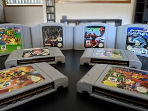 N64 games collection