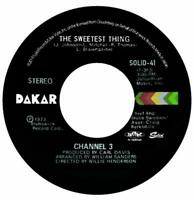 CHANNEL 3-THE SWEETEST THING / SOMEONE ELSE'S ARMS-JAPAN 7INCH VINYL Ltd/Ed C94