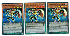Yugioh 3 X (3 Karten)  Dämmerungs-Ninja Jogen BLLR-DE016, 1. Auflage, Ultra Rare