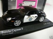 1/43 Minichamps Porsche Cayman Highway Patrol 2007 400 065691