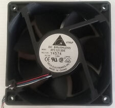 Delta AFC1212DE (Y4574) 120mmx120mmX38mm Ball Bearing HI Speed Fan, PWM 4PIN