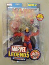 "Marvel Legends Series 3 Magneto 6"" Action Figure New Toy Biz 2002 MIP"