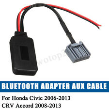 Car Bluetooth Adapter Aux Cable For Honda Civic 2006-2013 CRV Accord 2008-2013