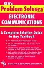 Electronic Communications Problem Solver (Problem Solvers Solution-ExLibrary
