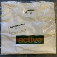 Active Ride Shop Box Logo Tee Size Medium Supreme Hoodie White Green Red Gold
