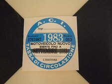 Imposta ITALIANO DISCO 1983-FIAT 500 600 126 LANCIA BETA GIULIETTA ALFA GTV6 ABARTH