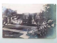 Vintage Real Photo Postcard HADDON HALL (Peak Series) Franked+Stamped 1913