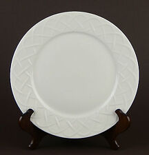 "12"" Chop Plate Serving Platter, EXCELLENT! Picnic, Oneida, White, Embossed"