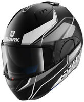 Shark EVO One KRONO noir/blanc KSW casque moto - Grand