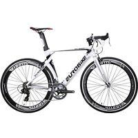 Racing Road Bike 700C Wheels Shimano 14 Speed Mens Bicycle Aluminium BikeS 54cm