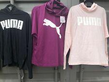 Puma Ladies Hoodie Long Sleeve Lightweight Tshirt, Coverup
