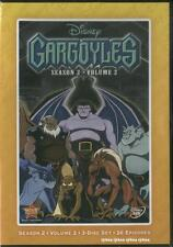 Gargoyles Season 2 Vol 2 Volume DVD Disney 3 Disc Exclusive  786936834642 New