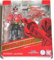 BANDAI S.H.Figuarts Samurai Sentai Shinkenger Shinken RED 2011Power Rangers F/S